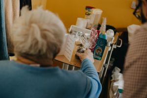 Předávání dárečků v Moravském Berouně 2018