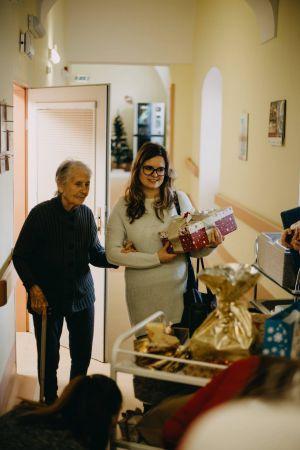Předávání dárečků VNOL 2018
