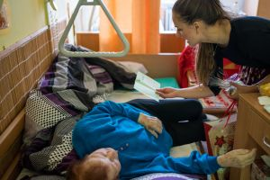 Předávání dárečků v Bohuslavicích 2019