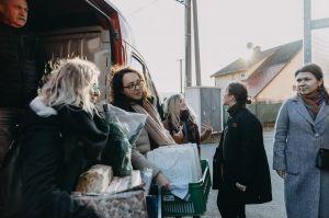 Předávání dárečků v Moravském Berouně 2019
