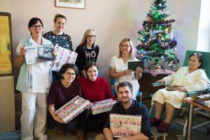 Předávání dárečků ve Šternberku 2019