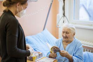 Předávání dárečků v Moravském Berouně 2020