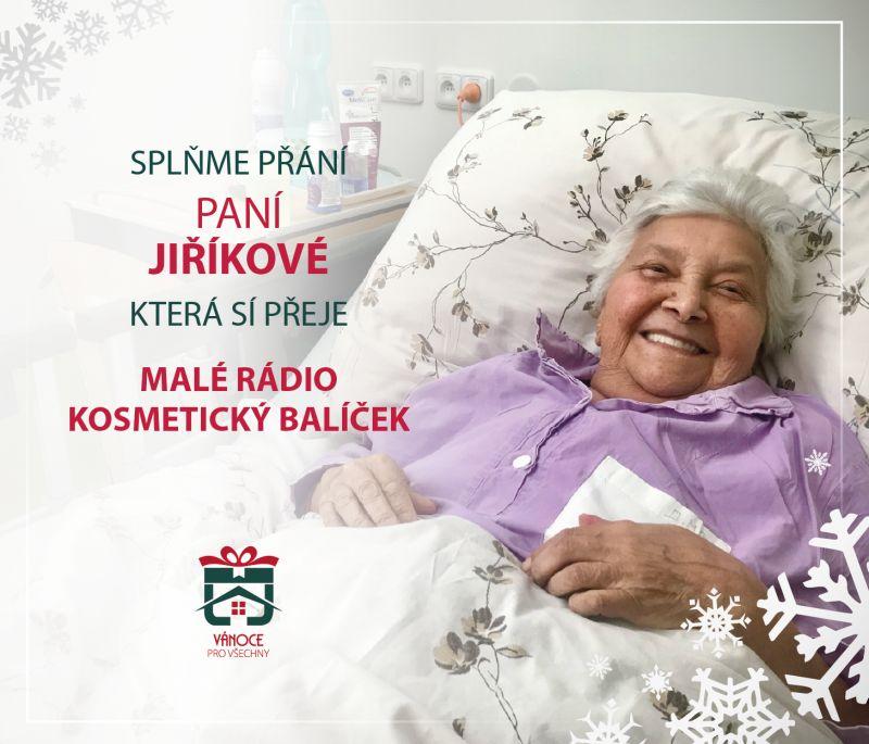 Paní Jiříková