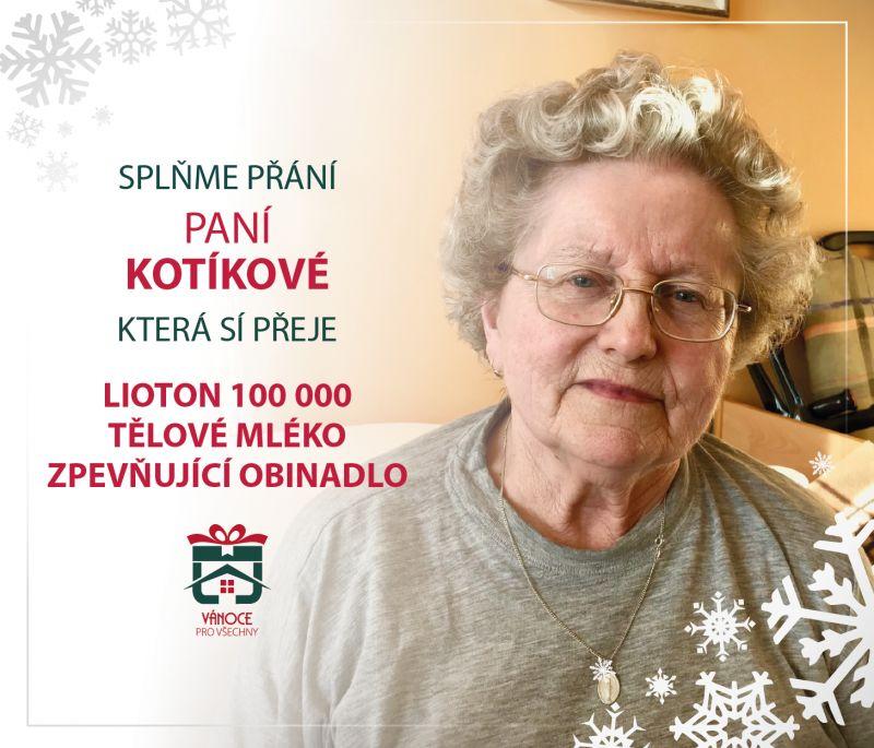 Paní Kotíková