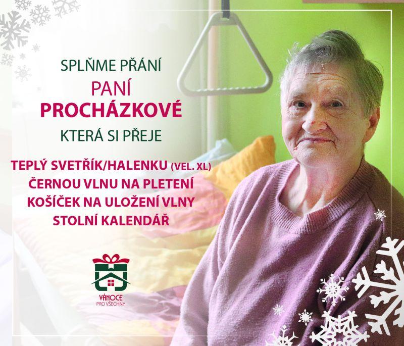 paní Procházková