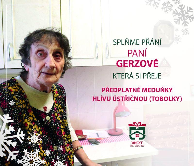 paní Gerzová