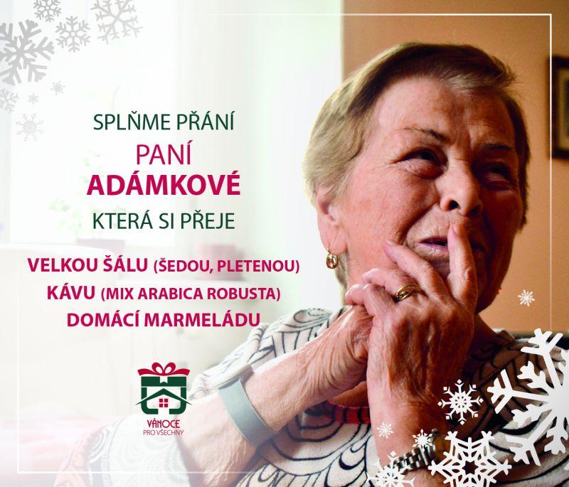 paní Adámková