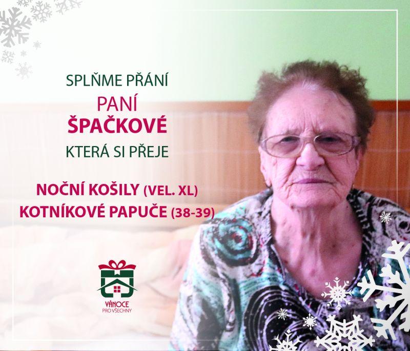 paní Špačková
