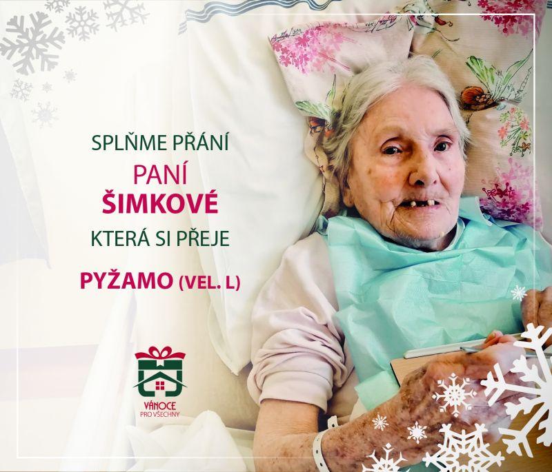 paní Šimková