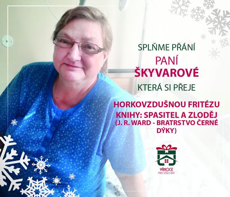 paní Škyvarová