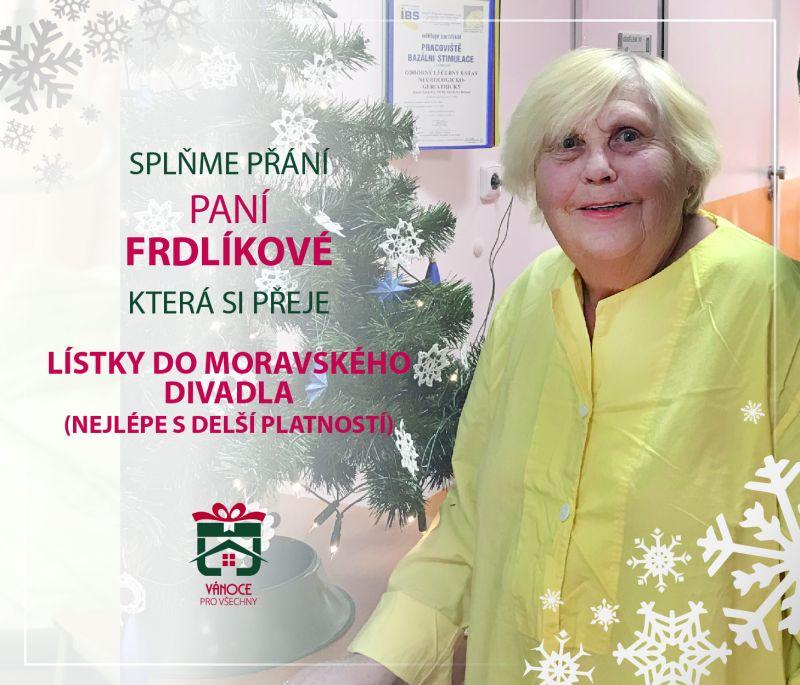 paní Frdlíková