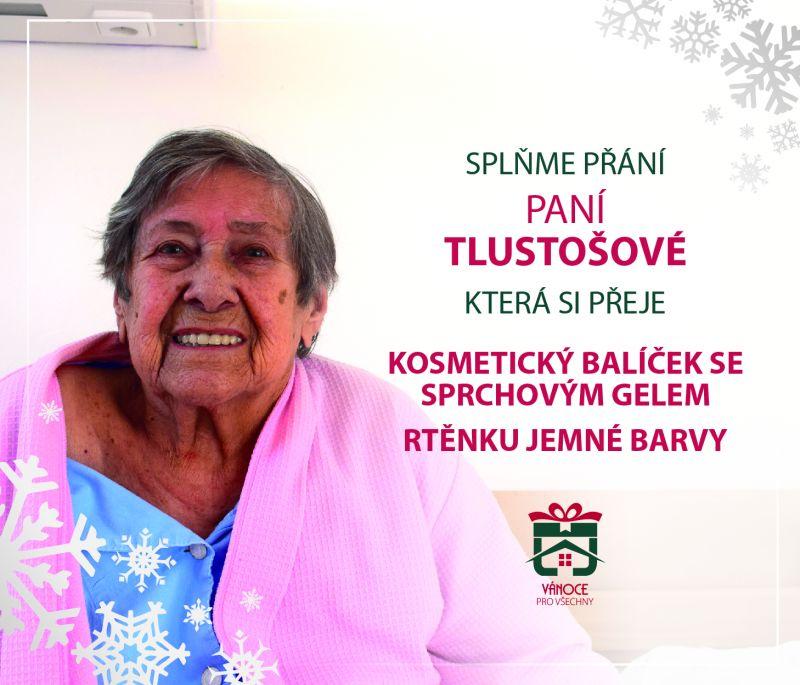 paní Tlustošová