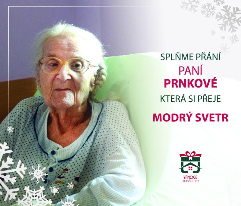 paní Prnková