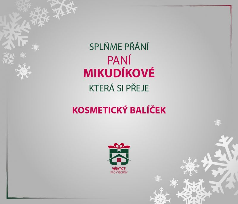 paní Mikudíková