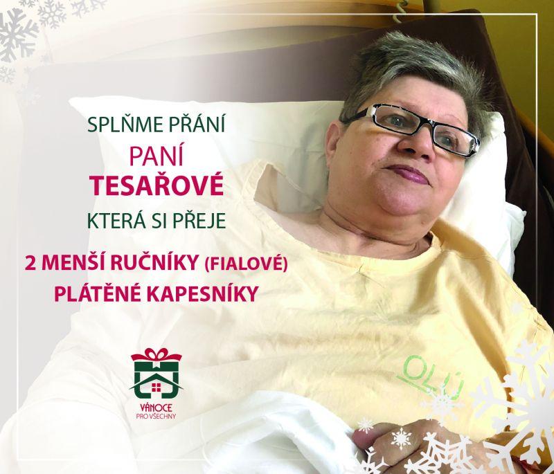 paní Tesařová