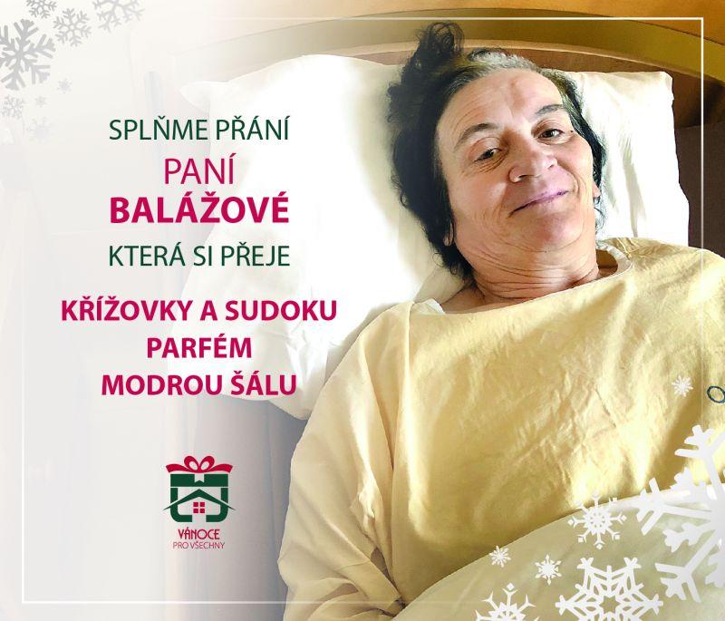 paní Balážová