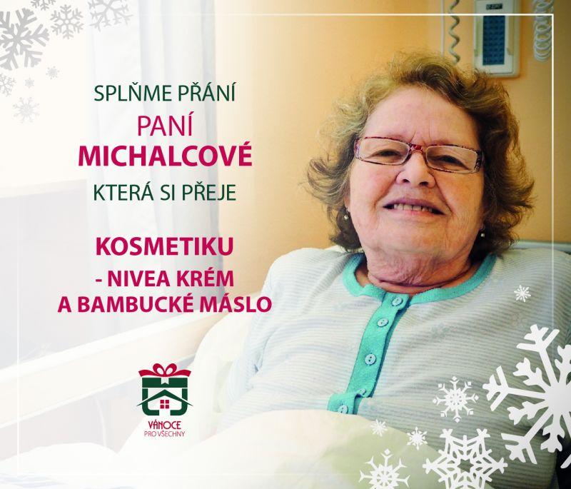 paní Michalcová