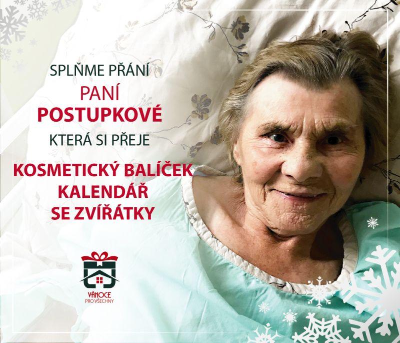 Paní Postupková
