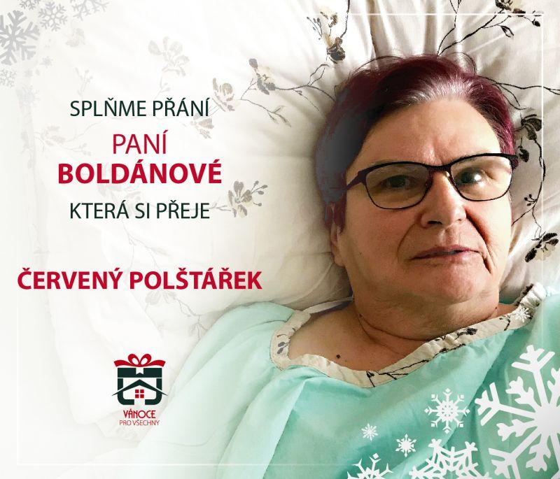 Paní Boldánová