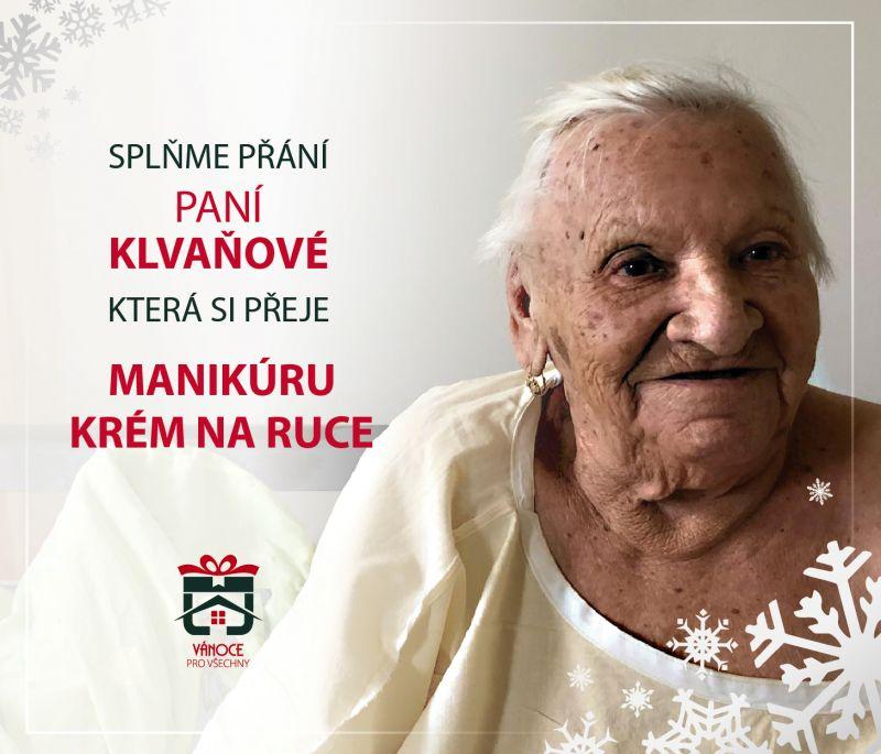 Paní Klvaňová
