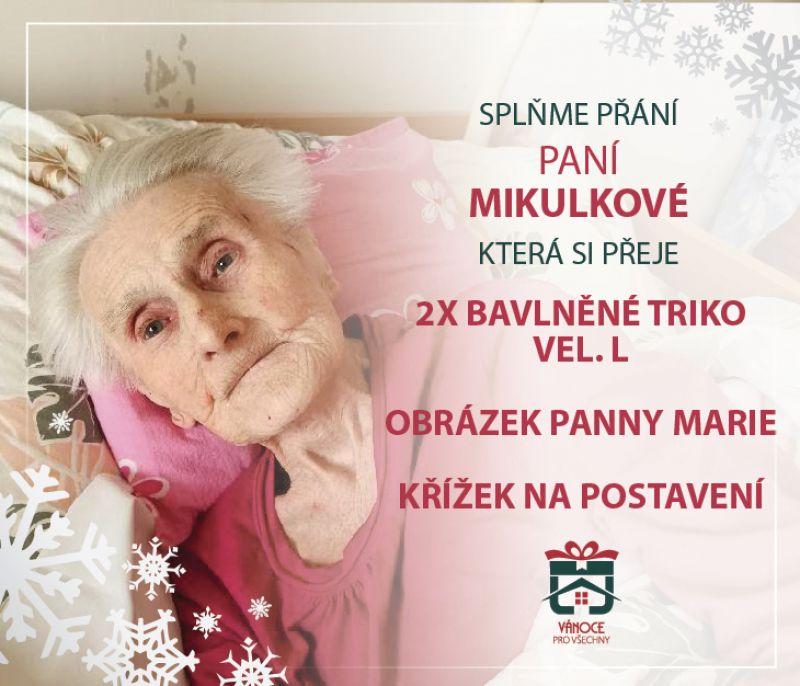 Marie Mikulková